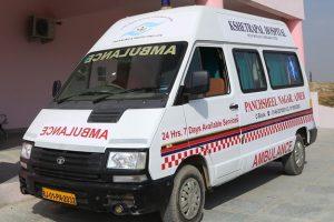 Kshetrapal Hospital - (Ambulance Services)